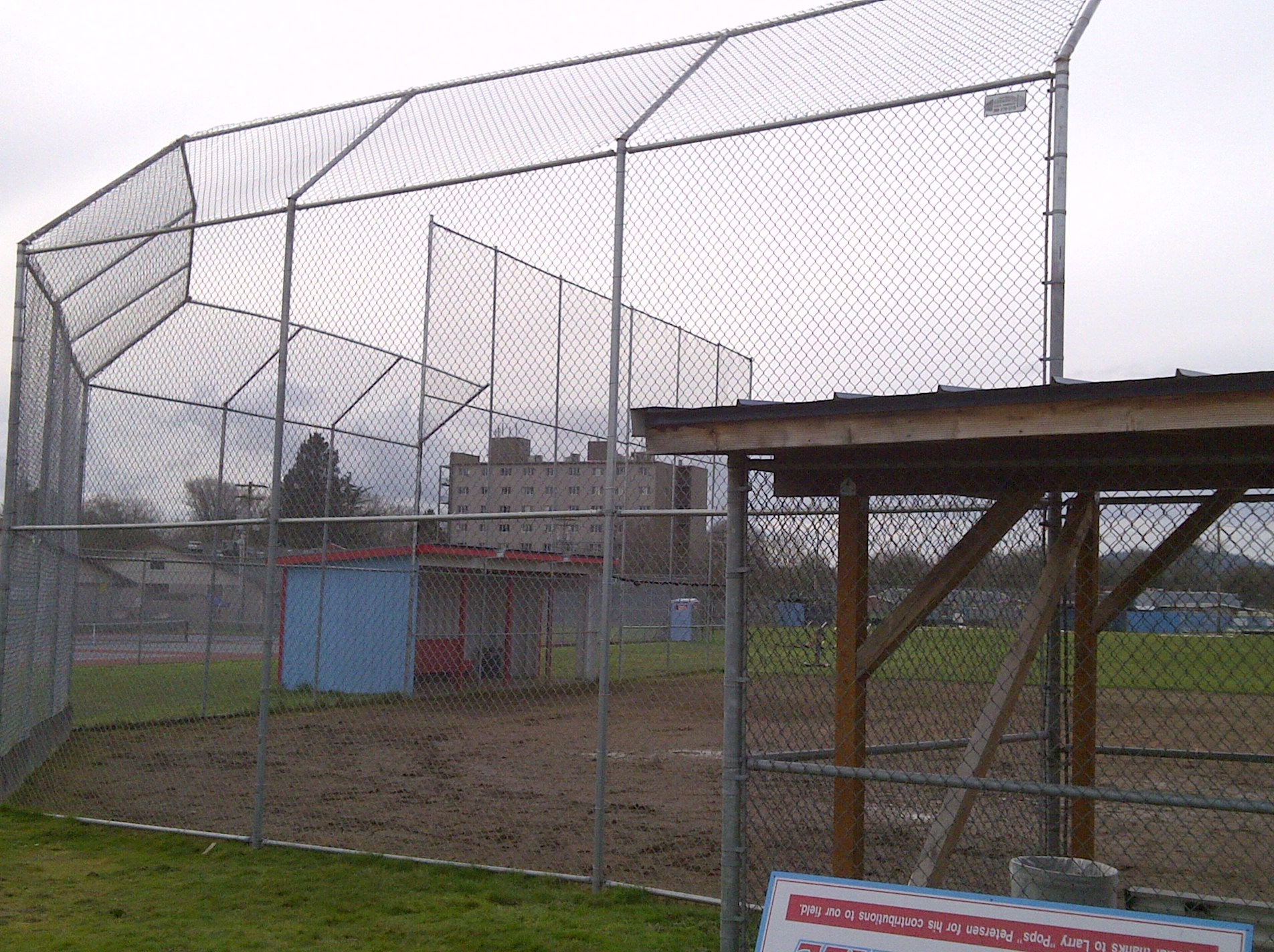 Commercial Chain link, Baseball field