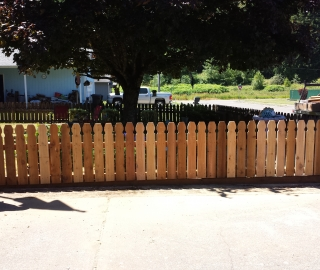 Residential 4ft cedar picket