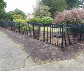 residential 4ft ornamental iron.
