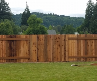 residential 6ft privacy cedar alternate panels