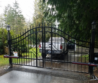 residential automated gate
