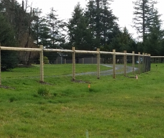 residential farm fence