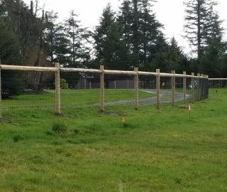 residential farm fence
