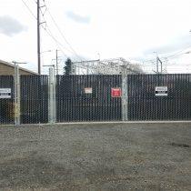 Gates for PUD substation